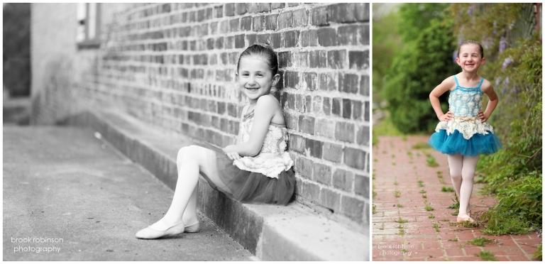 Three Sisters' Dance Portraits in Gordonsville