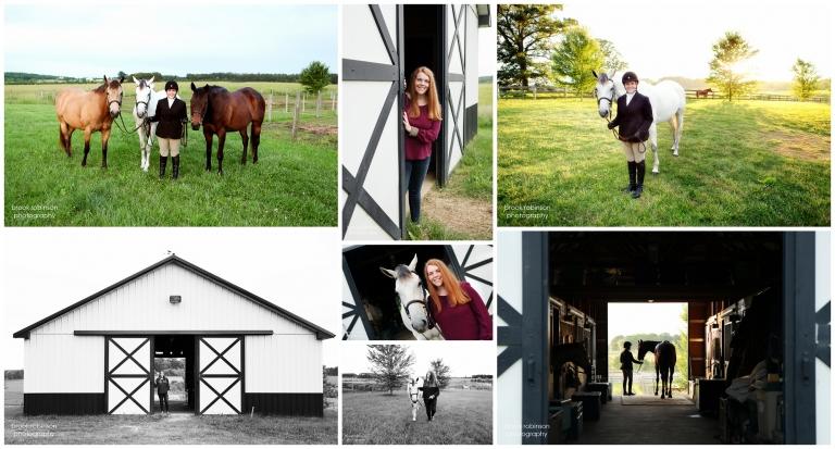 fluvanna county high school senior portraits horseback riding equestrian horses pictures charlottesville central virginia sillhouette sunset farm rural