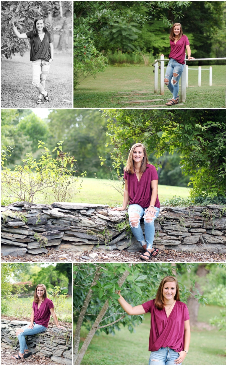 teenager pictures summer natural light monticello high shool senior portraits charlottesville albemarle clifton inn