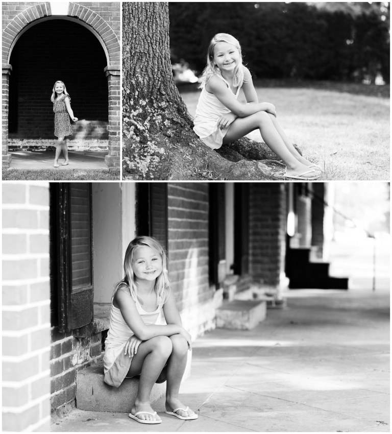 charlottesville girl birthday portraits 8 years old youth uva grounds lawn rotunda