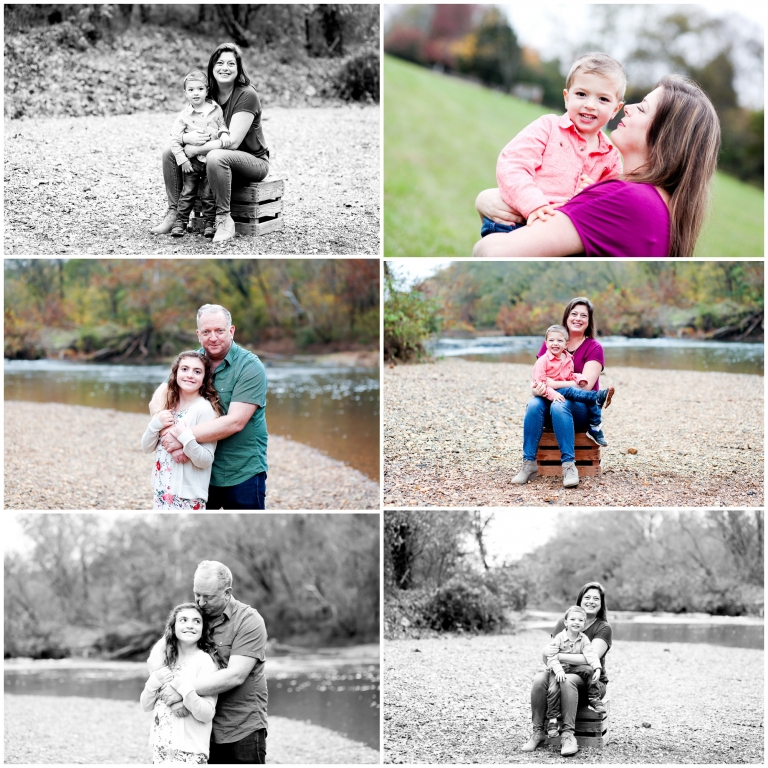 charlottesville family photographer portraits pictures fall autumn photography fluvanna palmyra sandy beach.