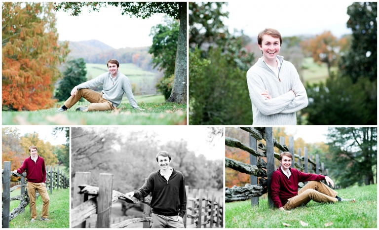 STAB high school senior St Annes-Belfield charlottesville albemarle virginia autumn fall portraits photographer