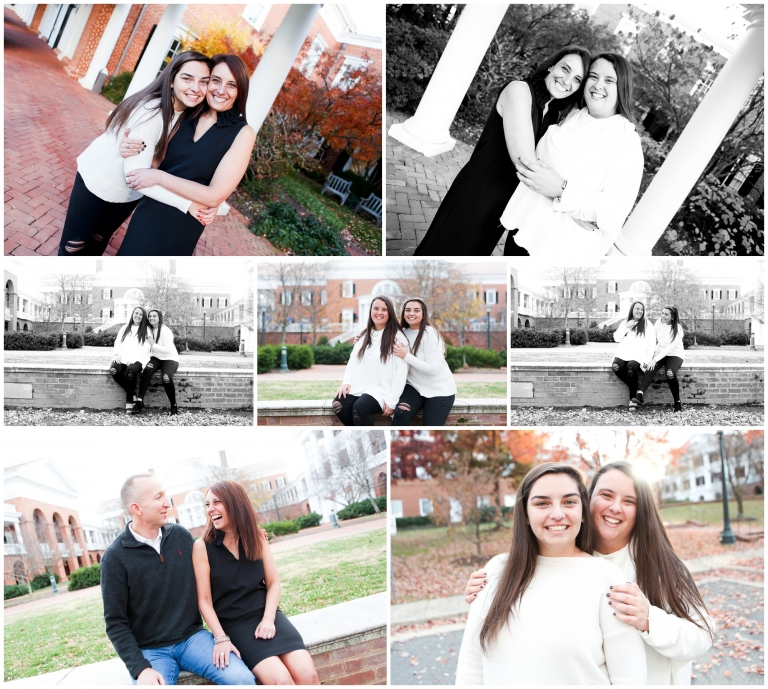 Charlottesville family portraits uva darden grounds fall pictures photographer university of virginia