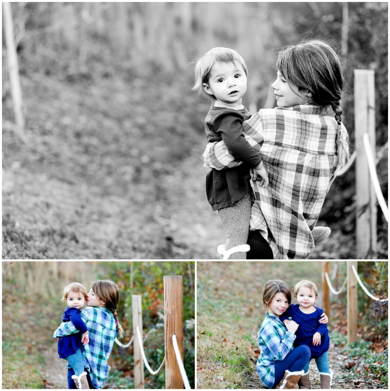Charlottesville sister portraits albemarle countu central virginia autumn fall sibling love bond hollymead photographer pictures
