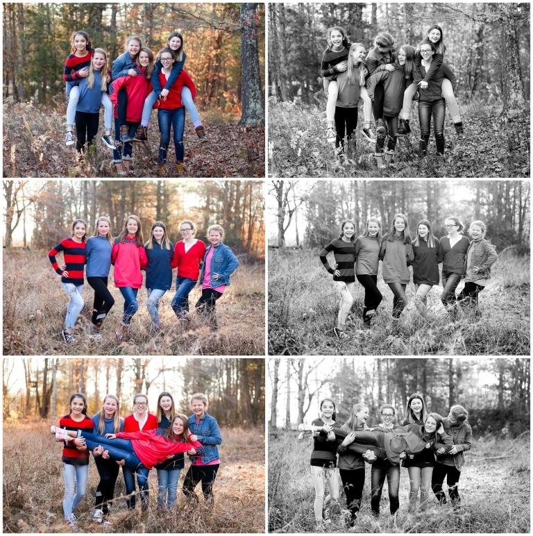 charlottesville friends 13 thirteen teenager tween portraits girls teens pictrues photographer fun friendship