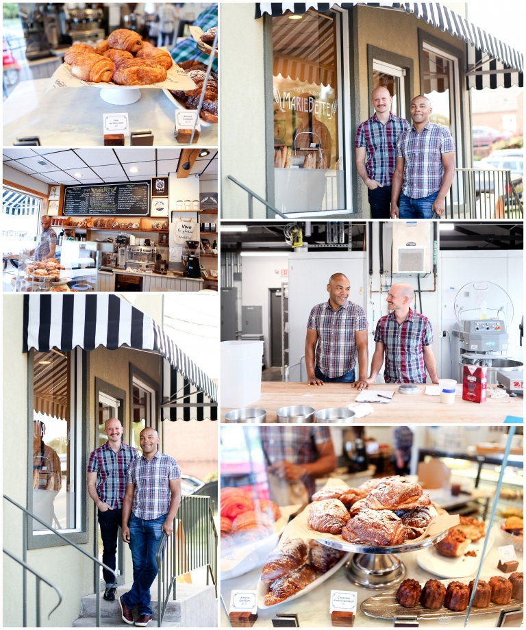 Photoshoot at Charlottesville Bakery MarieBette marketing commercial small business professional photographer pictures photography commerical headshots business pictures cville