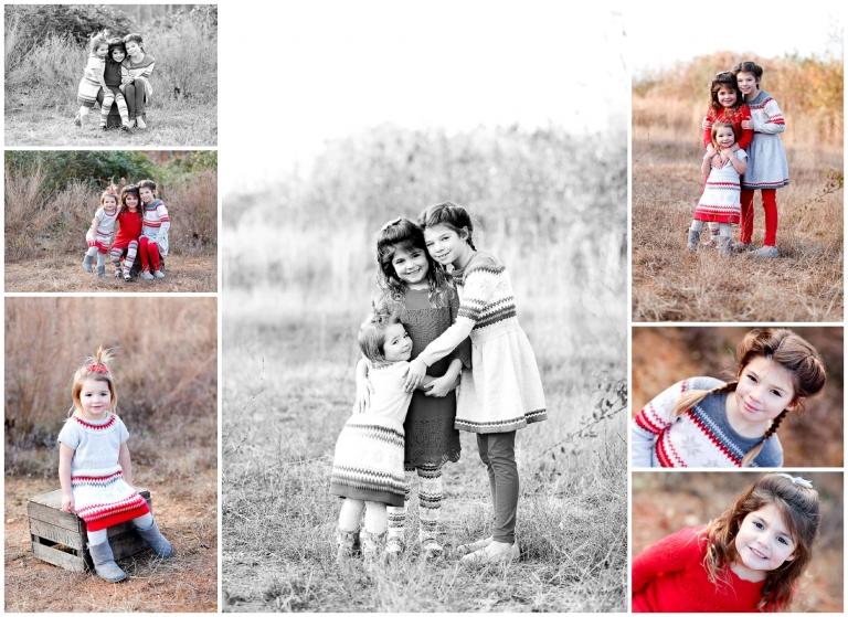 charlottesville winter fall family portrait photographer picture session sisters albemarle county va cville fluvanna virginia