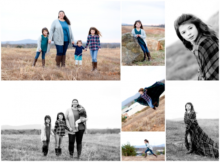 Charlottesville Mother Daughter Winter Portraits Albemarle County photographer pictures mommy children blue ridge mountains cville