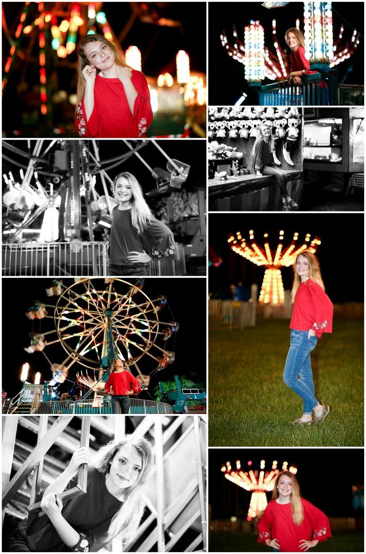 Fluvanna County High School Senior Portraits Carnival Fair spring summer charlottesville photographer fchs 2019 2020 graduate teenager pictures cville