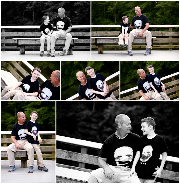 Father Son Spring Portraits Lake Monticello fluvanna charlottesville photographer pictures photography cville family child