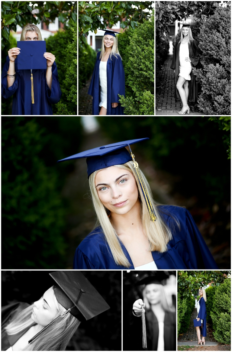 Fluvanna County High School Graduate Cap and Gown Portraits Palmyra FCHS Senior graduation spring congratulations diploma class of 2019