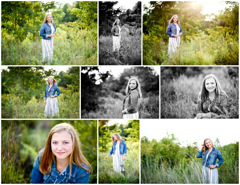 Fluvanna County High School Senior Summer Portraits Palmyra Photographer Pictures FCHS Charlottesville Cville Photography Natural Teen Genz Golfer UVA BRVGS