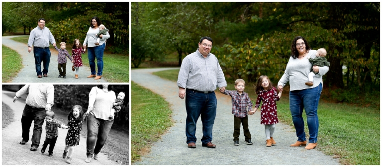Fluvanna Family Fall Portraits Charlottesville Photographer Monticello Pictures Session Siblings Autumn photography Parents Fun