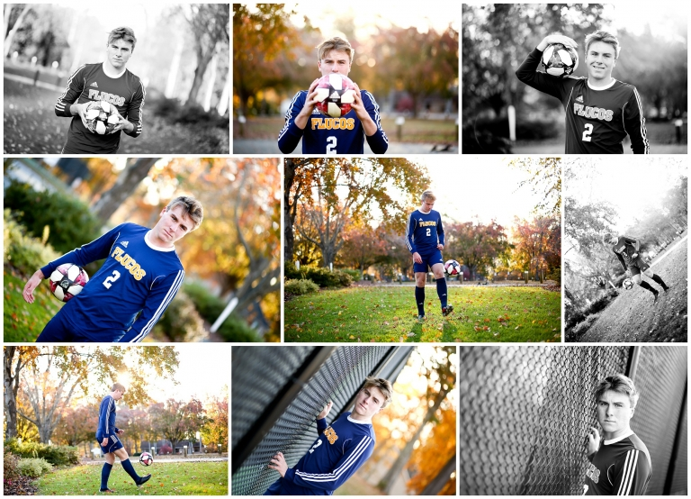 Fluvanna County High School Soccer Player Senior Fall Portraits at Lake Monticello FCHS graduate class of 2020 photographer fluco pictures photography