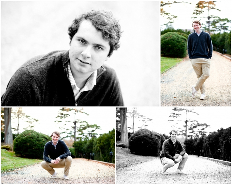 St. Anne's-Belfield School Senior Fall Portraits in Charlottesville High Graduate Graduation ALbemarle County STAB photographer photography autumn teen boy