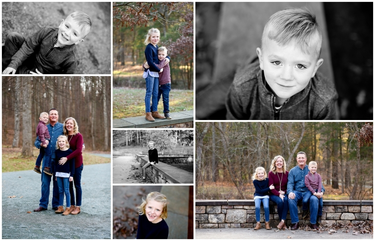 Charlottesville Extended Family Winter Portraits in Albemarle County Cville Photographer Pictures Grandparents Grandchildren Photography Session