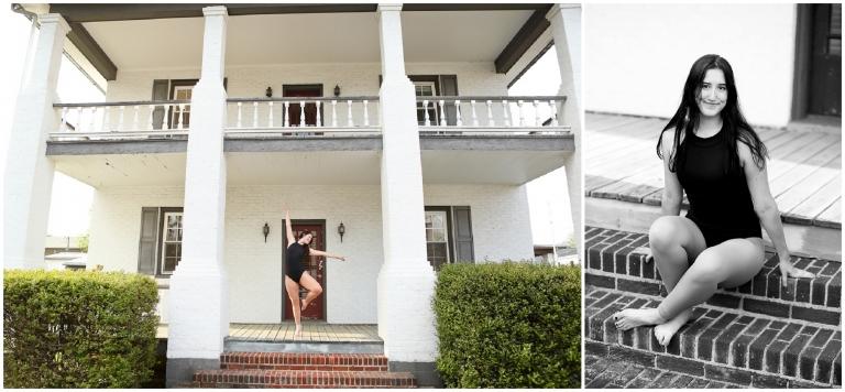 Orange County High School Dancer Portraits in Gordonsville photographer Senior OCHS Dance Recital Ballerina Ballet Charlottesville Fluvanna Cville Pictures