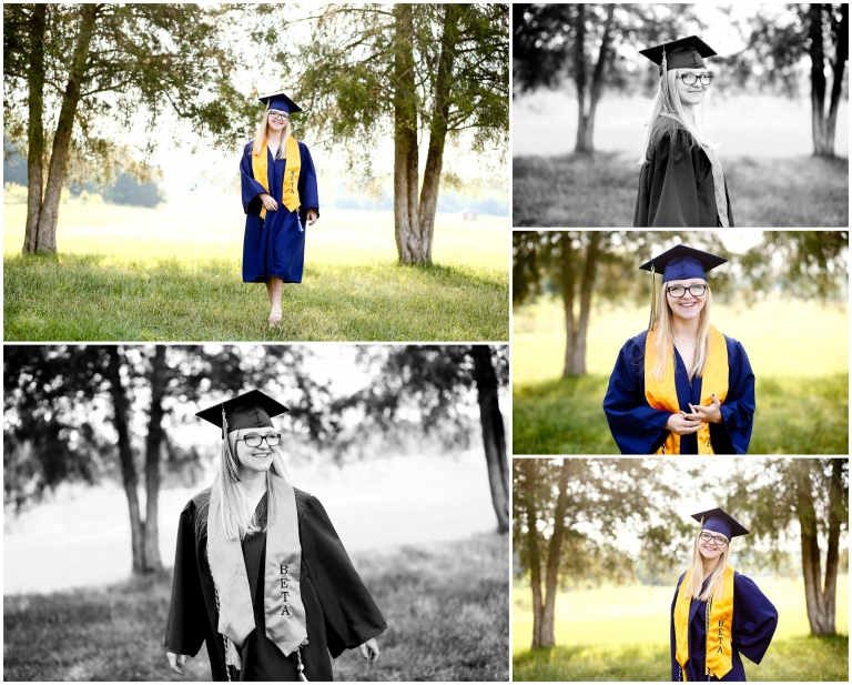 FCHS Graduating Senior Cap and Gown Portraits in Fluvanna county high school photographer charlottesville cville pictures session photoshoot graduate